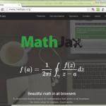 MathJax-LaTeX例