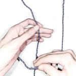 bowline knot、またの名を king of knot、あるいはもやい結び