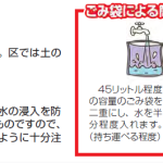 大田区のほうの「わが家の防災チェック」