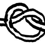 もっとさらに誰でも知ってる overhand knot (止め結び)