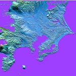 立体地形図を手作りしてみようかな、っと(10)
