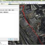 実際に GPS センサの値を記録してみて可視化してみたら