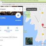 埋め込みの Google Maps の言語変更は出来ないんかいな