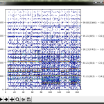 FFT なスペクトラム可視化に音階をくっつけて(2)