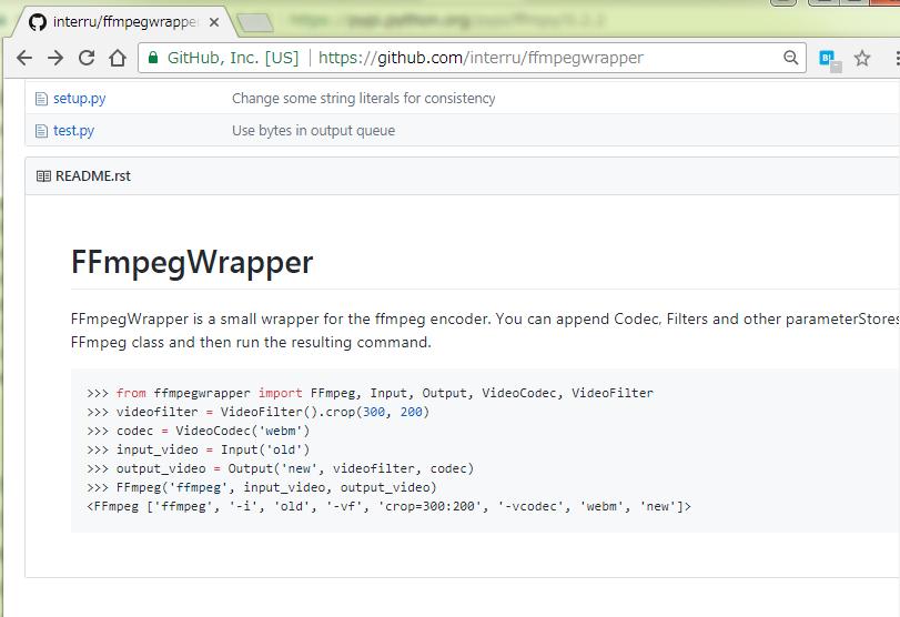 ffmpeg を呼び出す系の python ラッパーたち | site-hhs