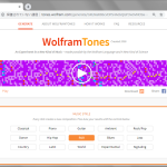 出鱈目音楽生成機 (Wolfram Tones)